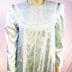 Vintage Girly Jessica McClintock GUNNESAX Dress 12
